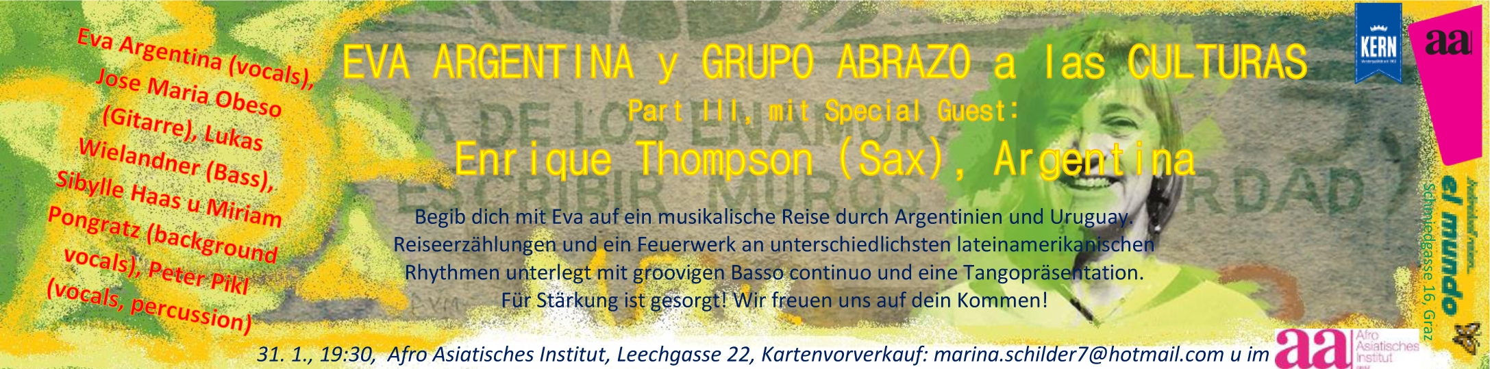 Konzert & Tangopräsentation