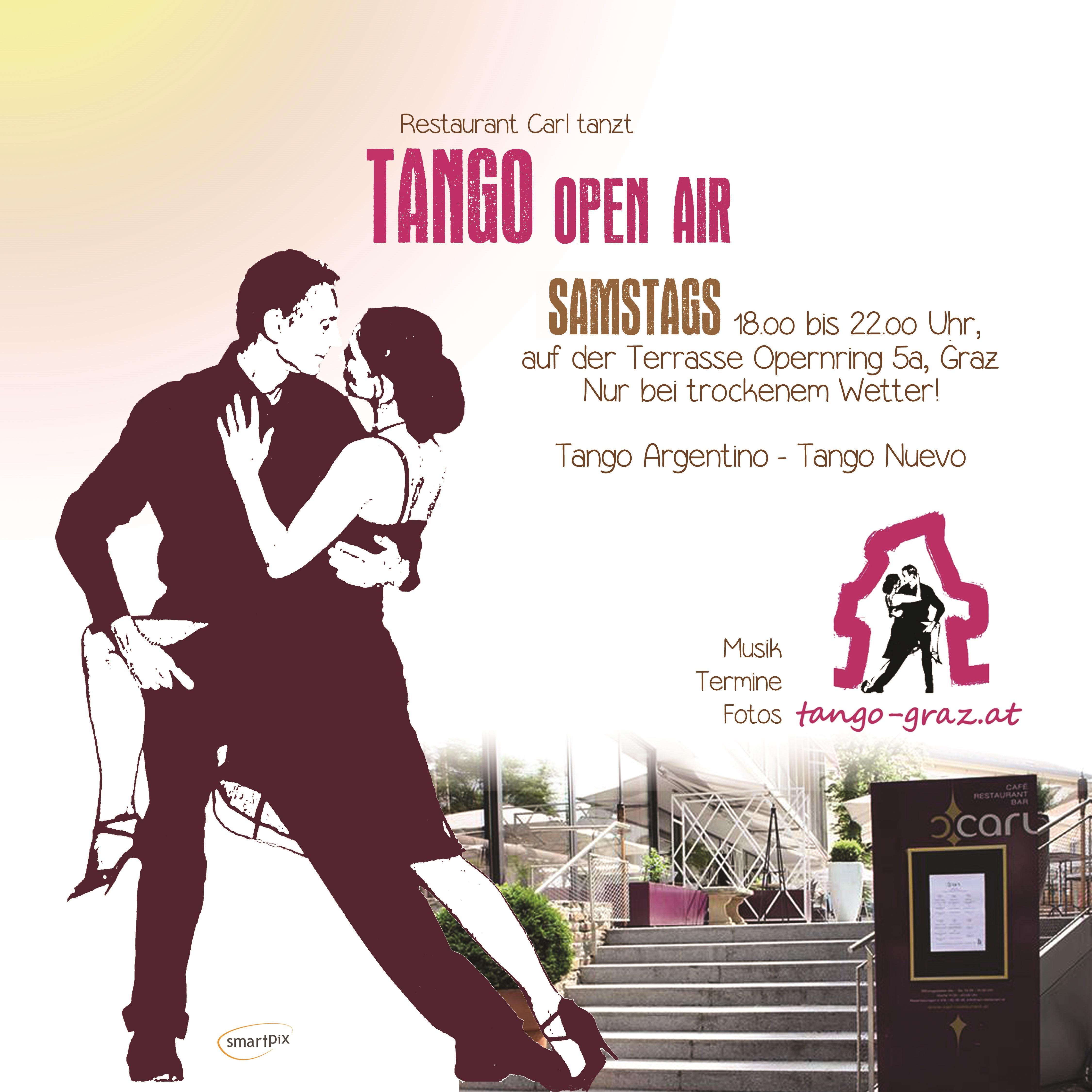 Einladung Flyer Carl tanzt tango sa