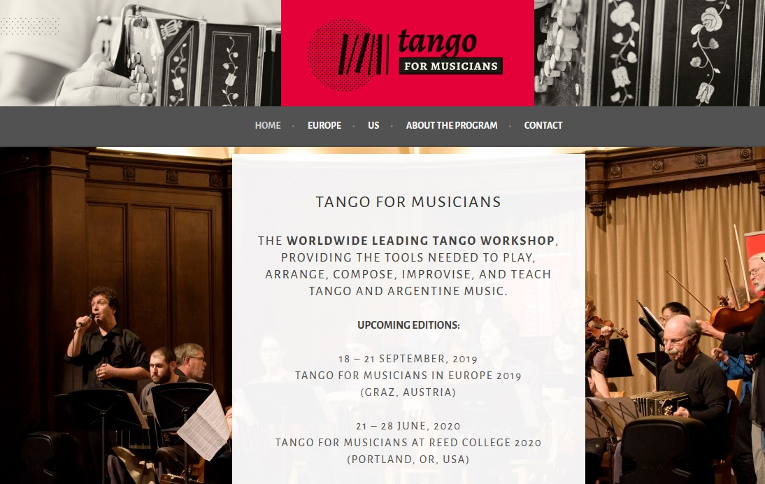 tango for musicians